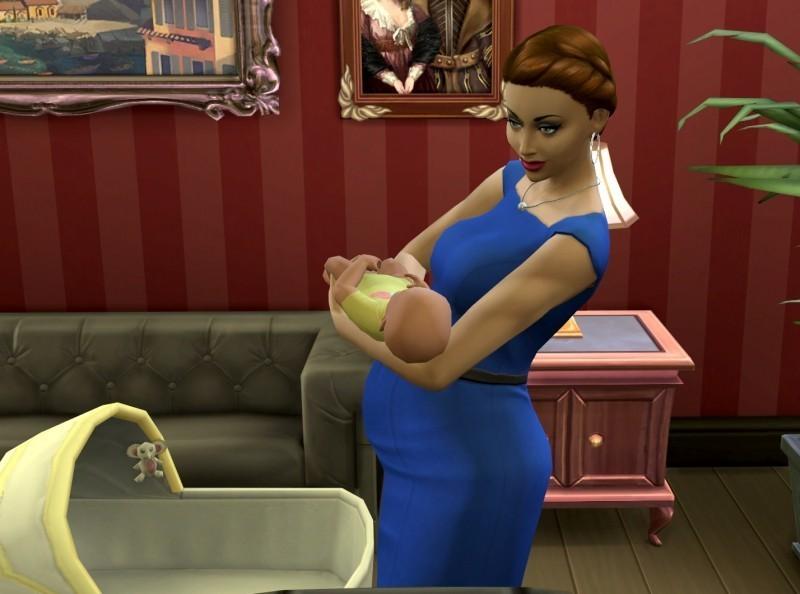 Как родить ребенка в Симс 4