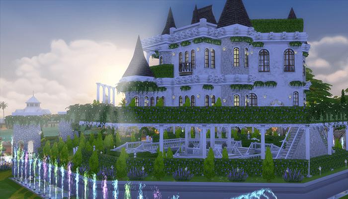 Красивые дома в Симс 3 и Симс 4: как построить (схемы и фото)