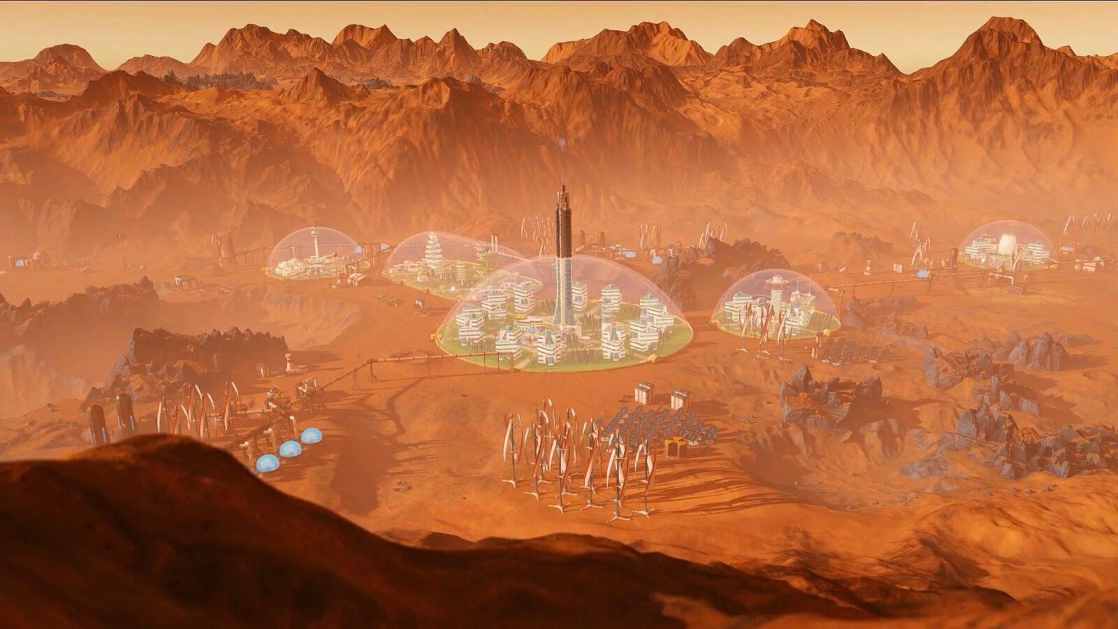 Обзор игры и дополнений Surviving Mars