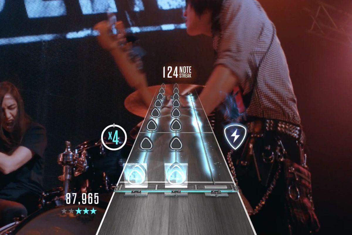 Guitar Hero Live Guitar Hero TV отключается, значительно сокращая каталог песни