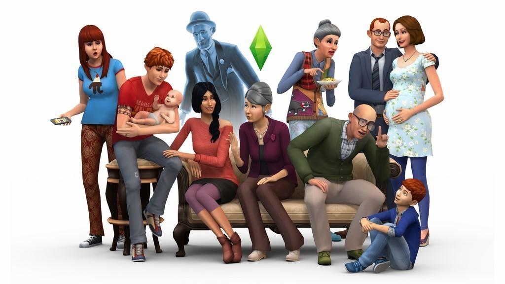 Семья более 8 человек в Симс 4