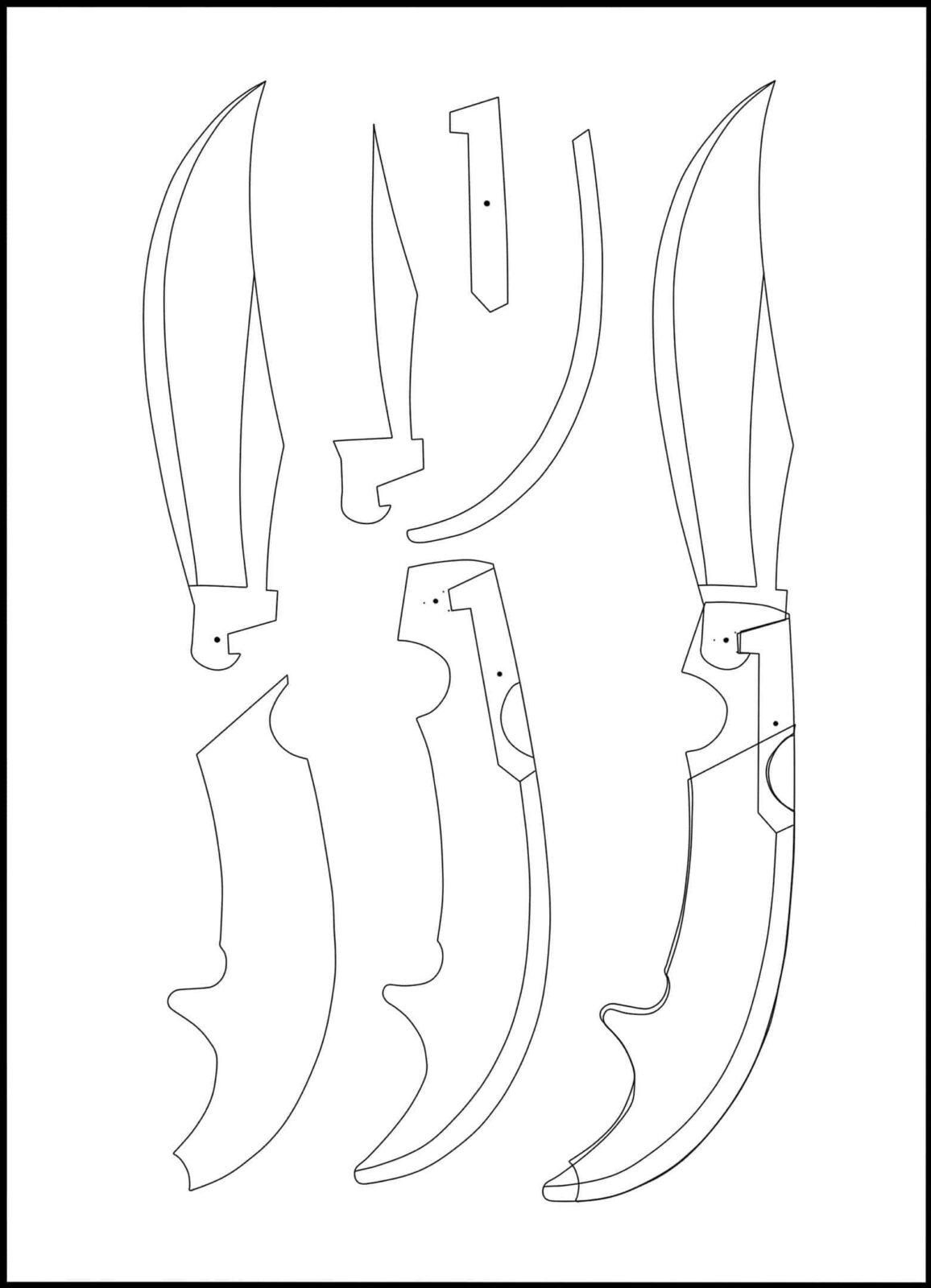 суны картинки ножей из кс го чертеж на белом фоне этой проблемой