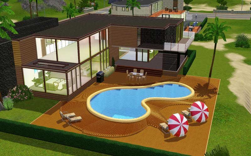 Дом для симс 3 большой