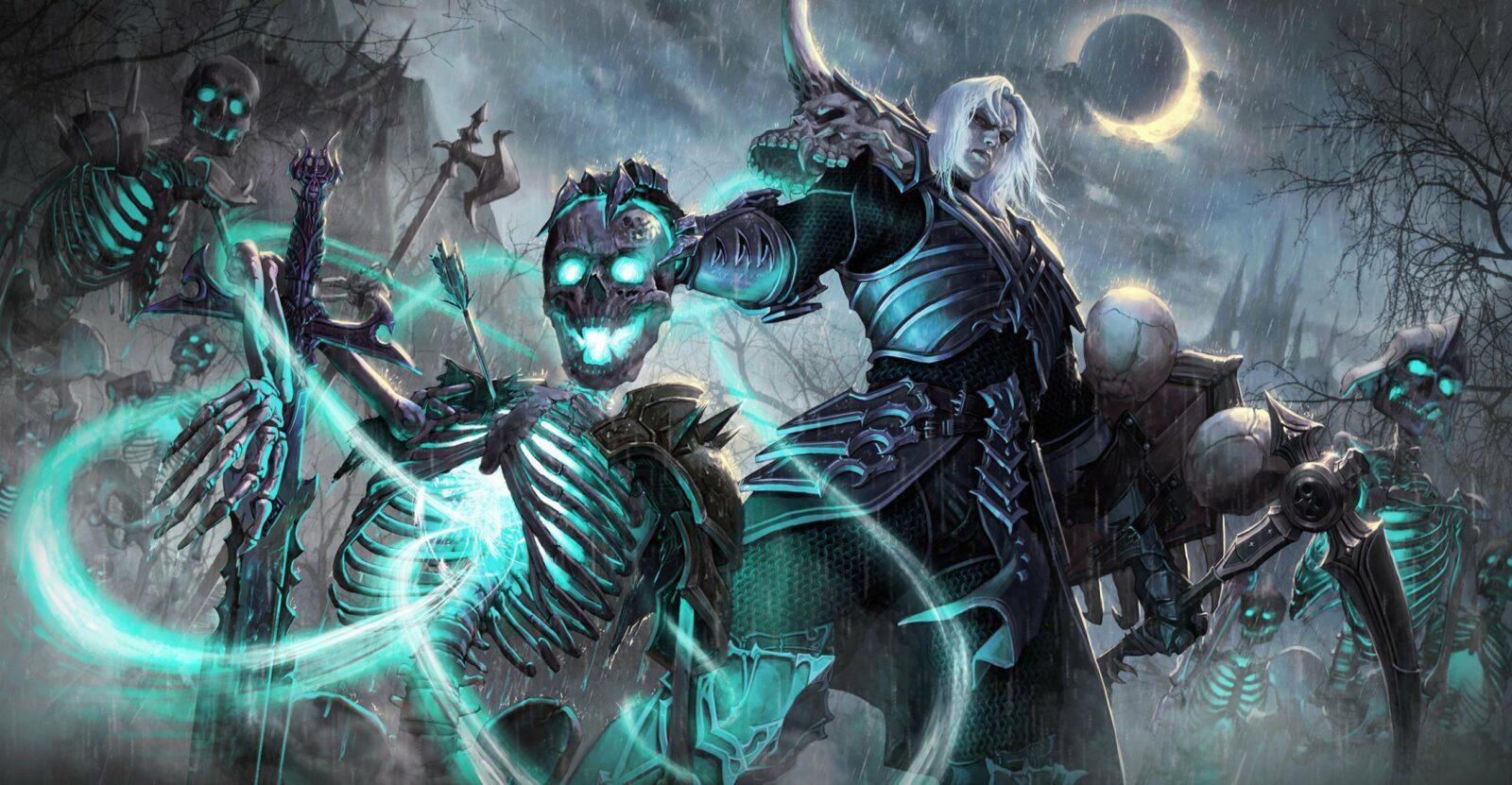 Diablo 2 некромант - описание и стиль игры класса