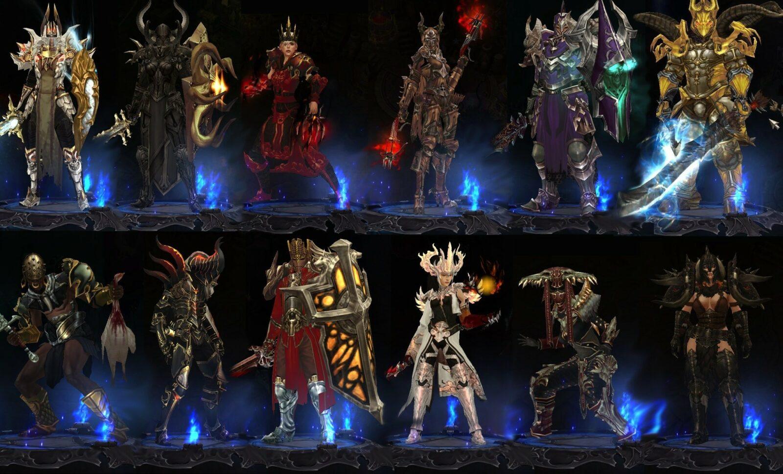 Классы персонажей в игре Diablo 3