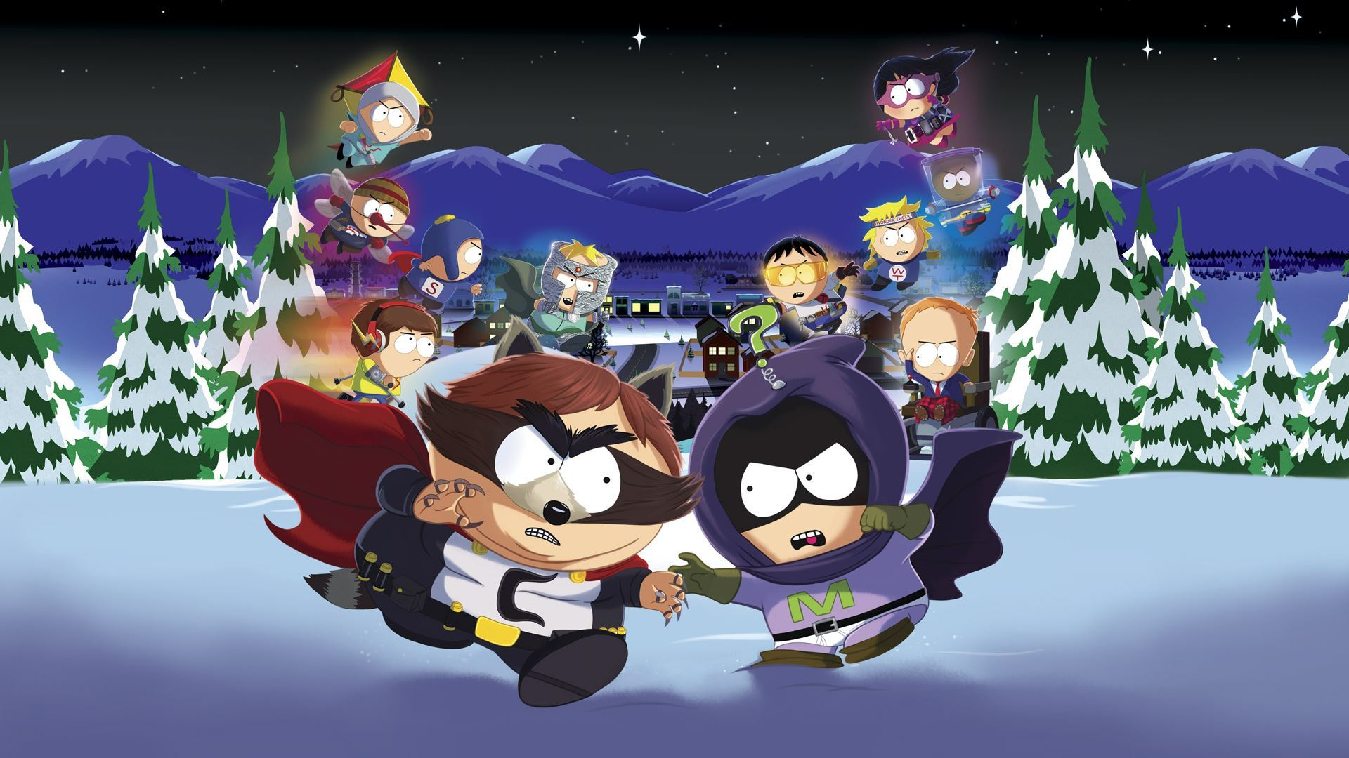 South park the fractured but whole системные требования