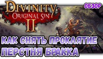 Как снять проклятие в игре Divinity original sin 2