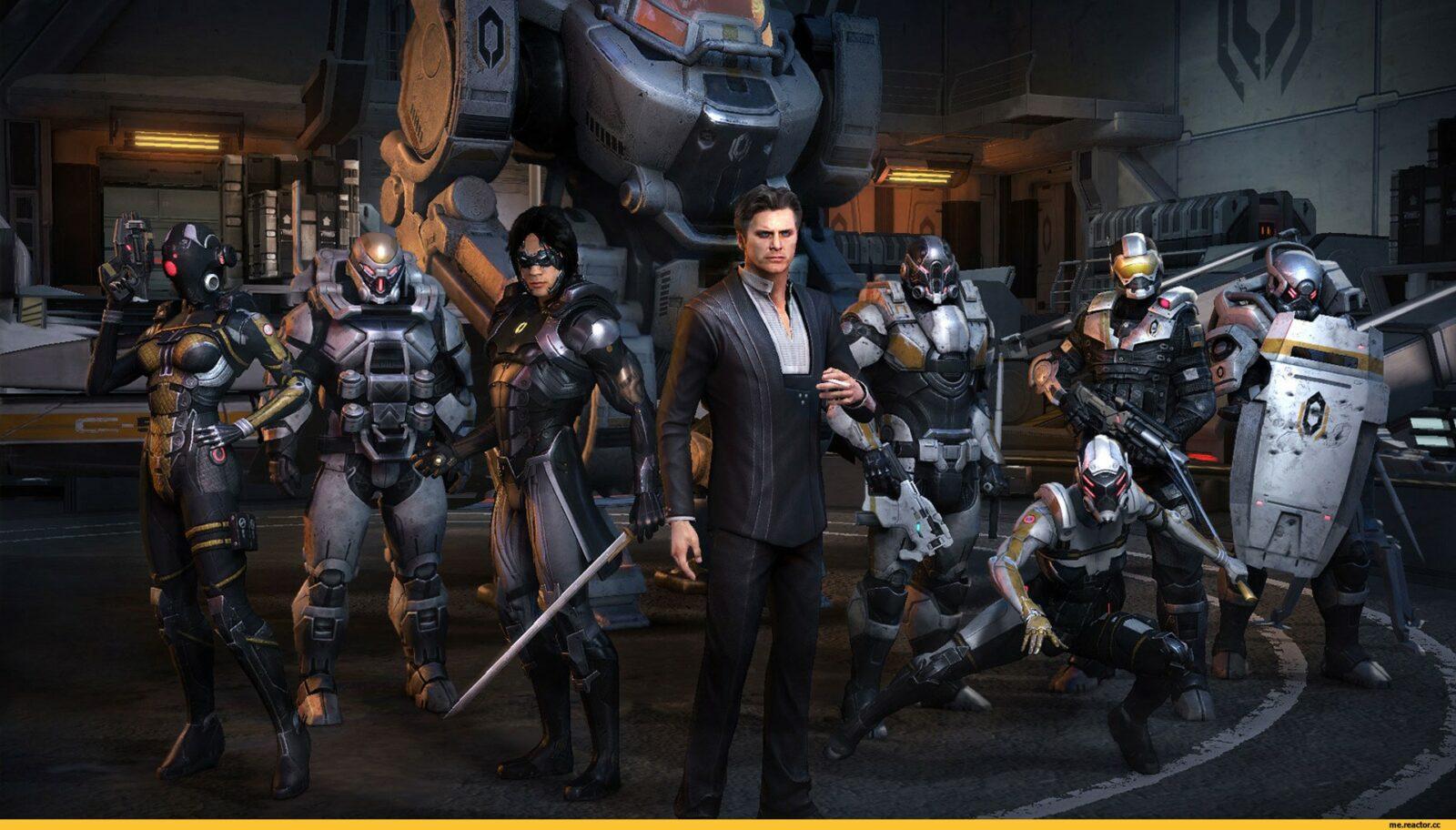 Призрак в игре Mass Effect