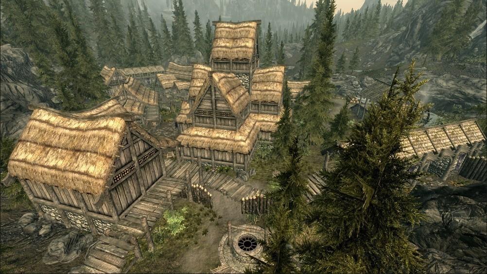 Как помочь жителям Фолкрита в игре Скайрим?