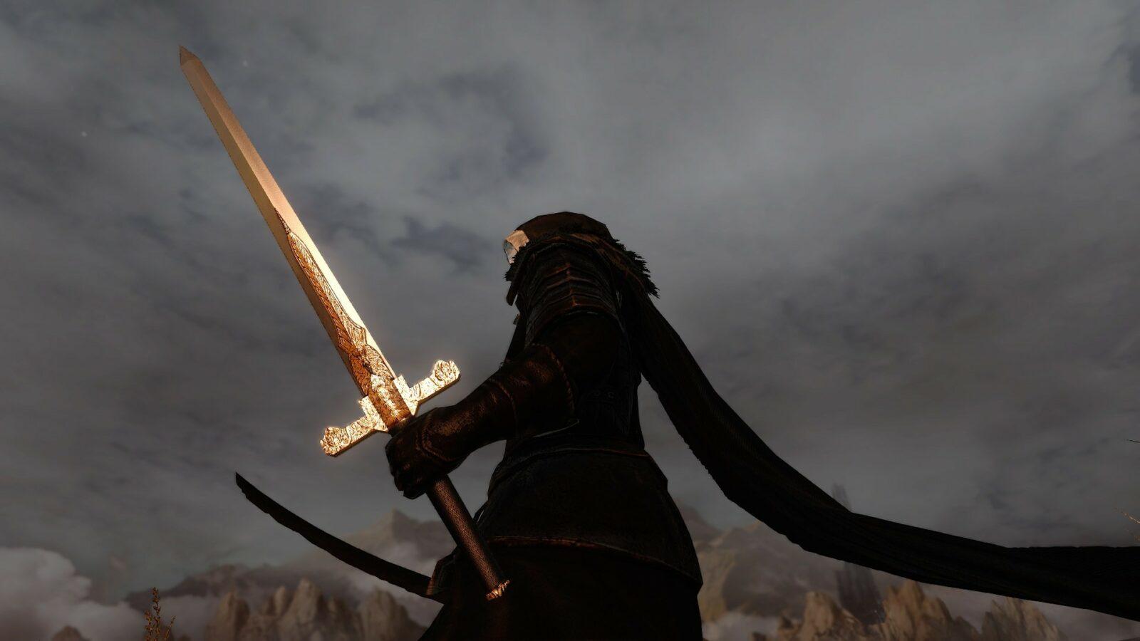 Огненный меч в Dark Souls 2