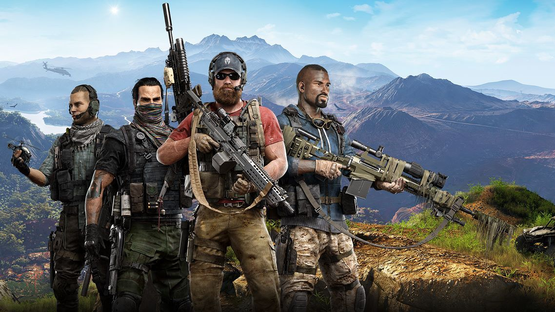 Оружие в игре Tom Clancy's Ghost Recon Wildlands