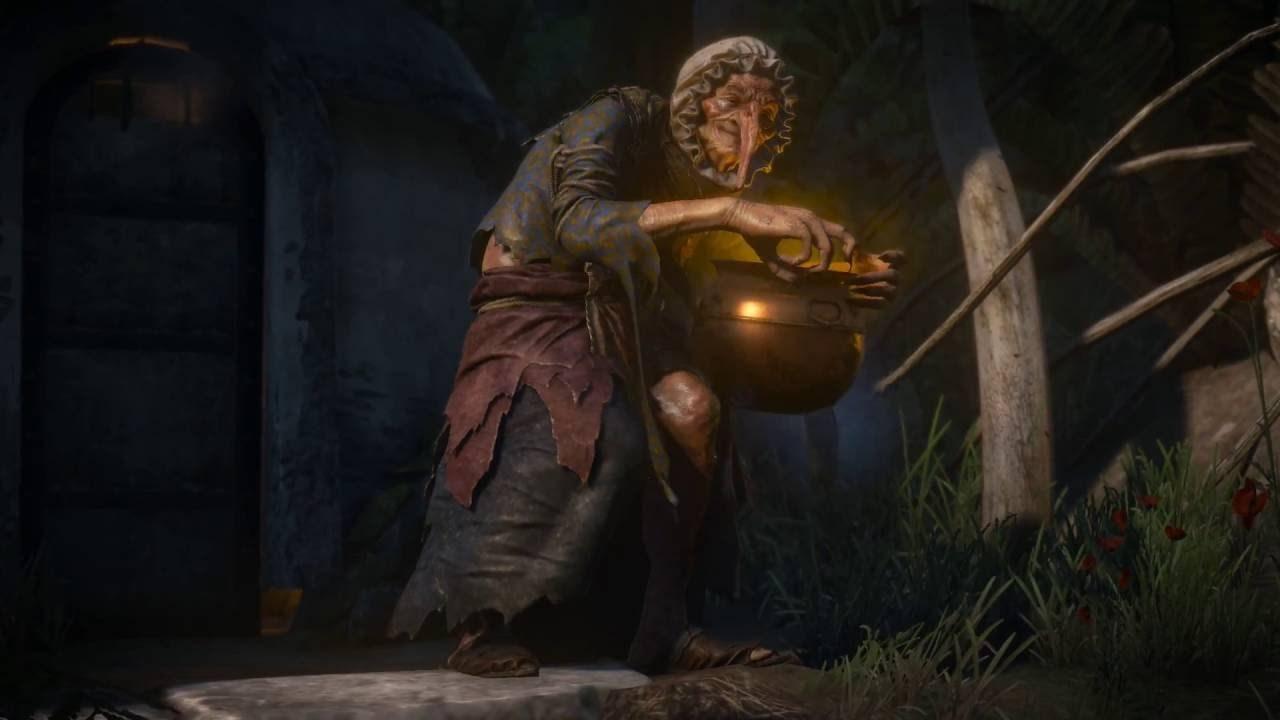 Как победить злую ведьму в дополнении Кровь и вино?