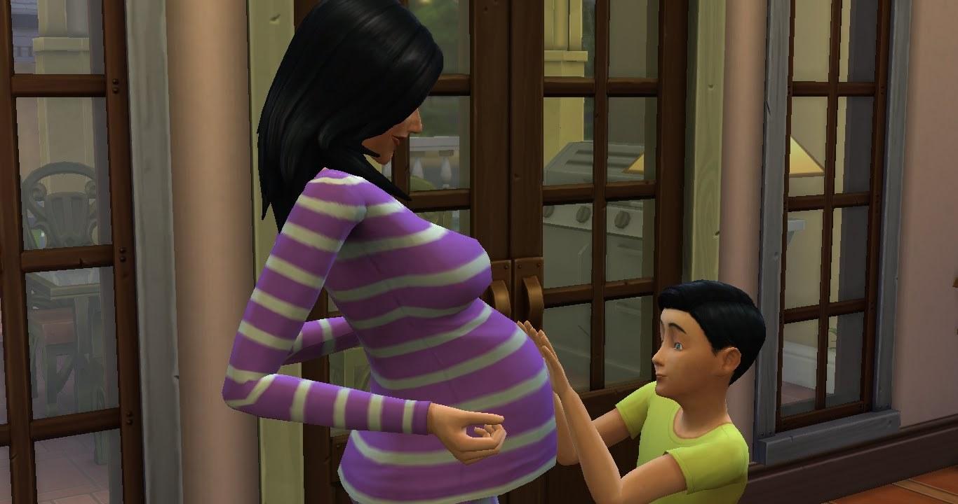 Симс беременность