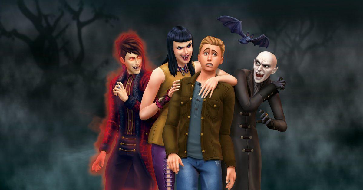 Как превратить сима в вампира?