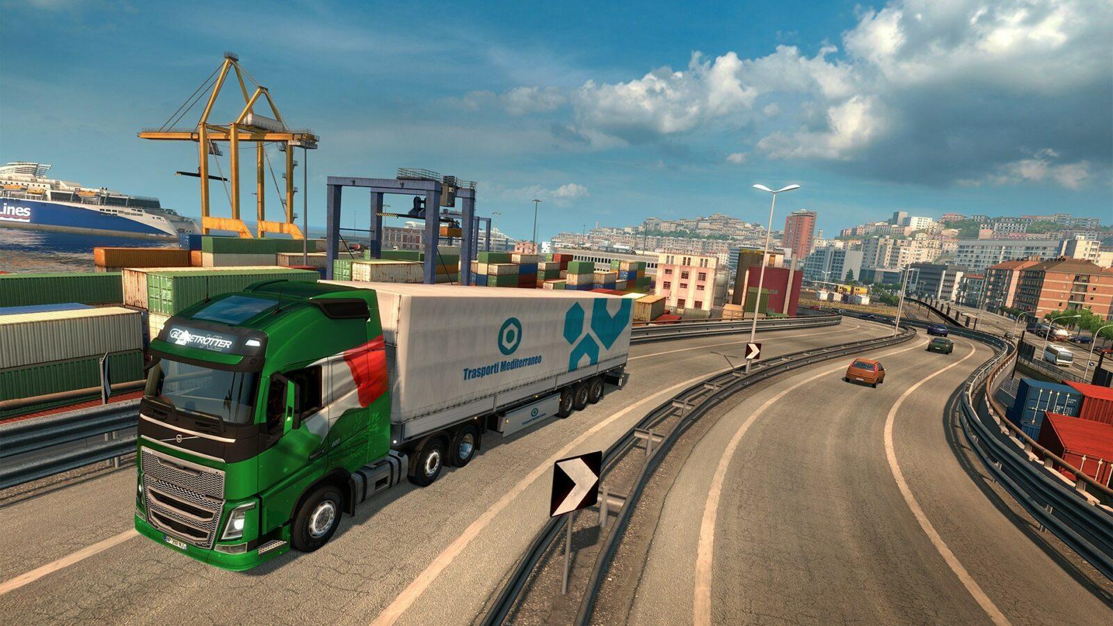 Как открыть все автосалоны в Euro Truck Simulator 2?
