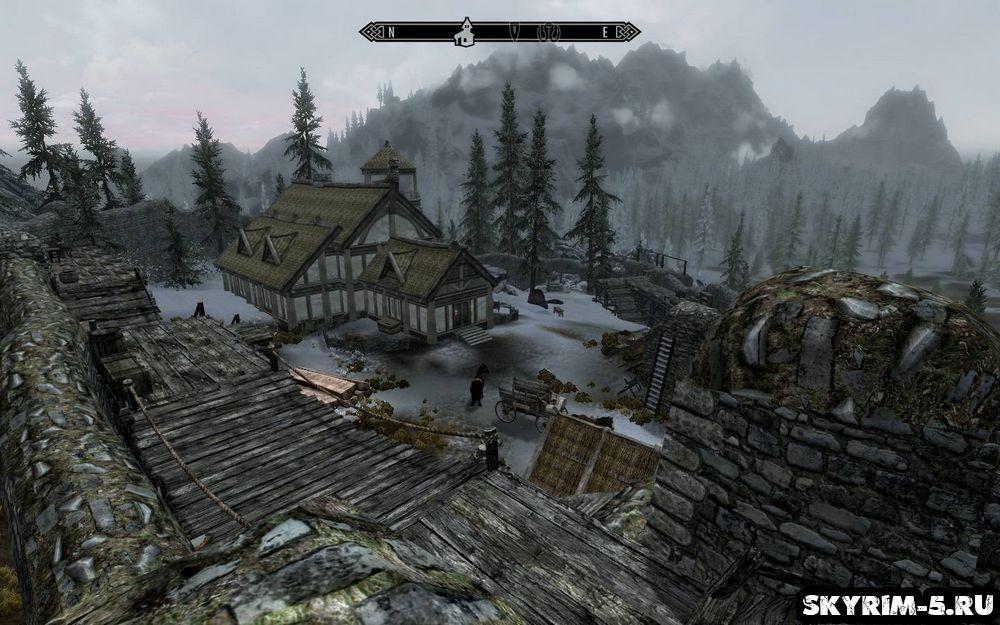 Skyrim как построить свой дом большим