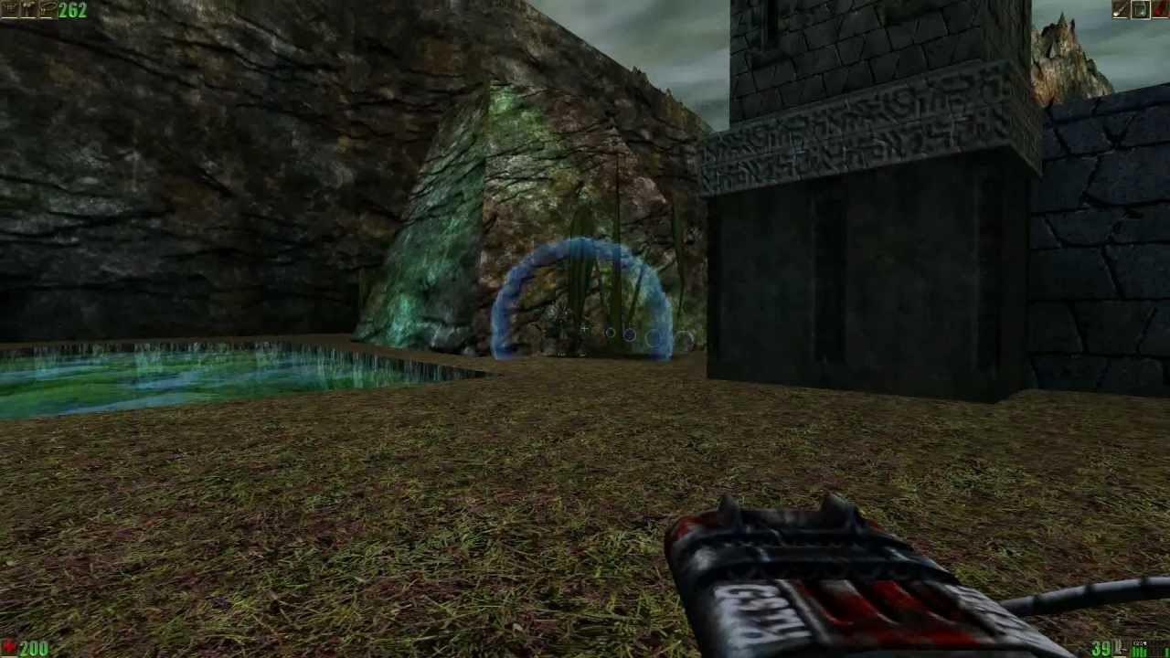 Прохождение 4-5 уровня игры Unreal
