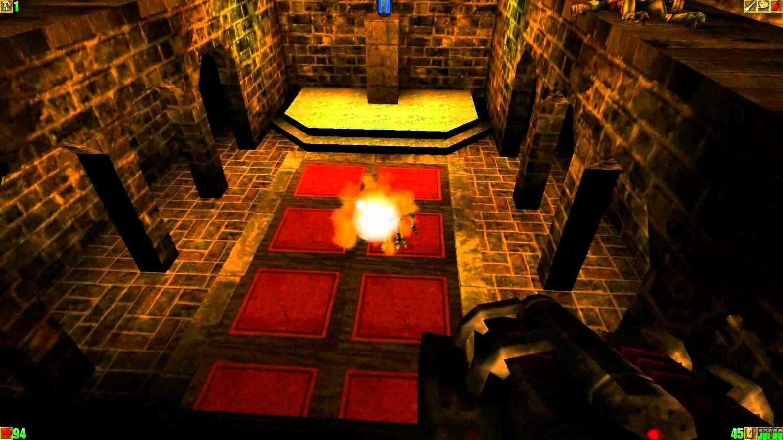Прохождение 24 уровня игры Unreal