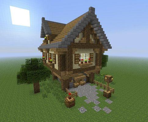 Minecraft: cамый маленький дом в в котором можно жить