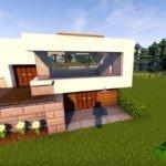 Строительство красивого дома в Майнкрафт