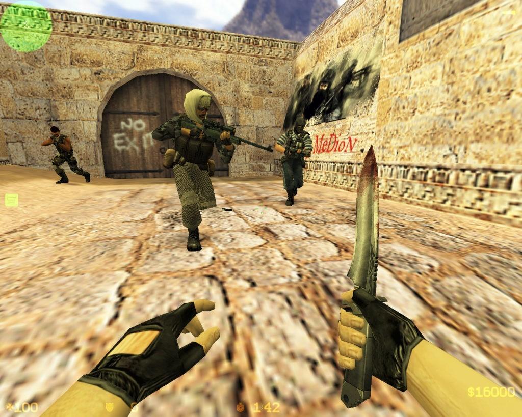 Эпохальная Counter-Strike 1.6