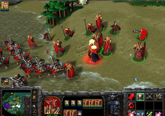 Чит-коды на Warcraft 3